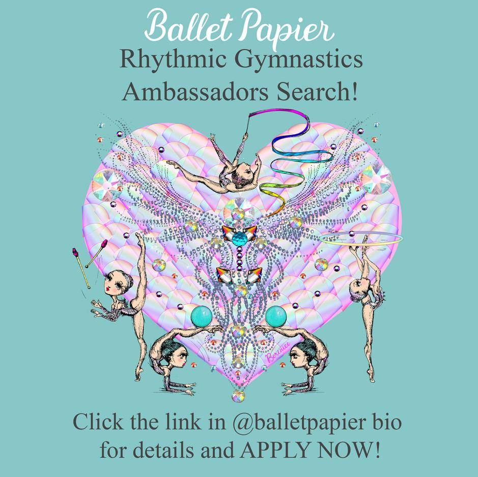Ambassador Search Rhythmic Gymnastics