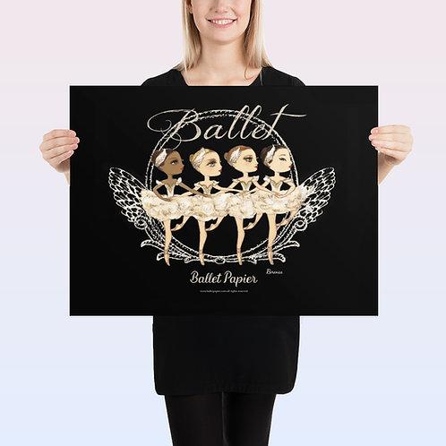 Little Swans Poster