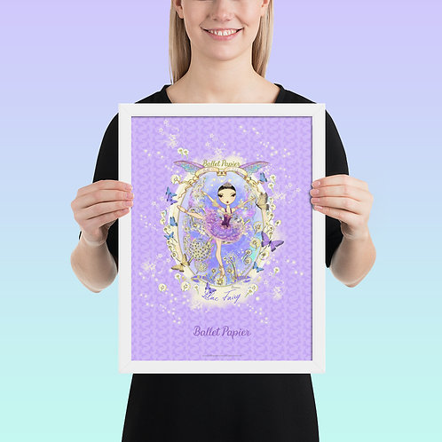 Lilac Fairy Framed Poster