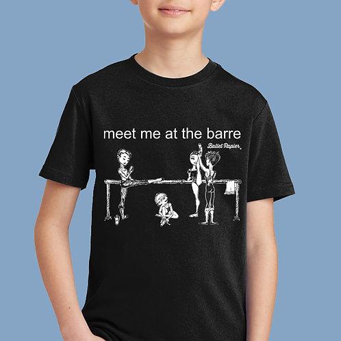 Meet Me At The Barre Junior T-shirt