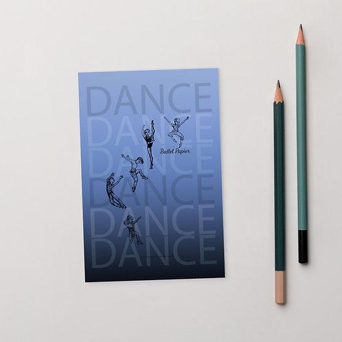 Dance Boys Postcard