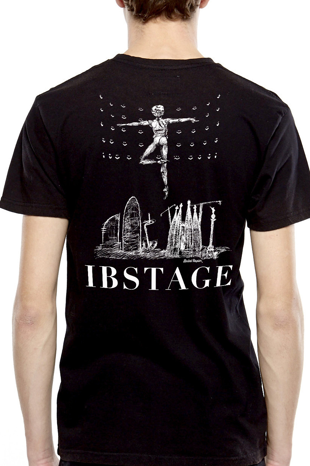 Ballet Papier men T-shirt for IBStage