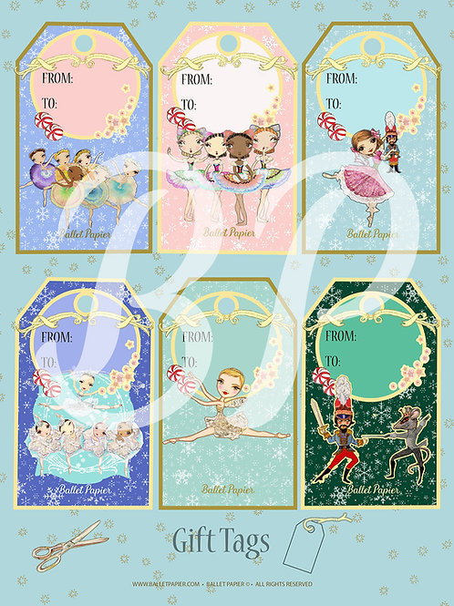The Nutcracker Gift Tags 2