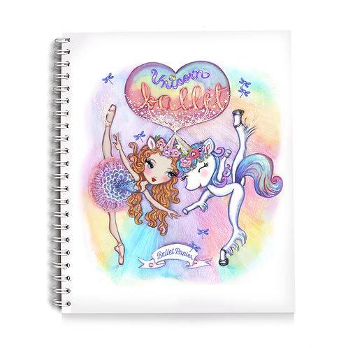 Ballet Unicorn Notebook