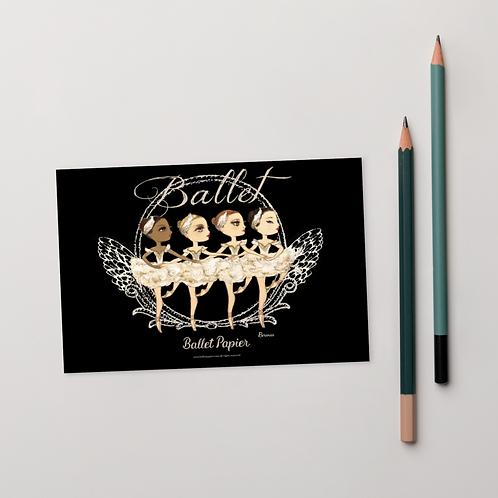 Little Swans Postcard