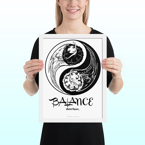 Balance Framed Poster