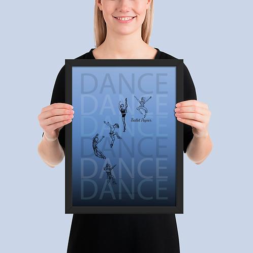 Dance Boys Framed Poster