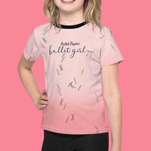 Ballet Girl Kids T-shirt