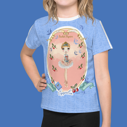 Team Coppelia Girls T-shirt | 2 to 7 years old sizes