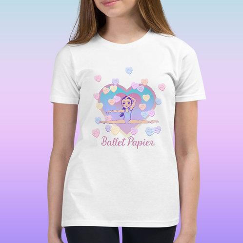 Ballet Heart Youth T-Shirt