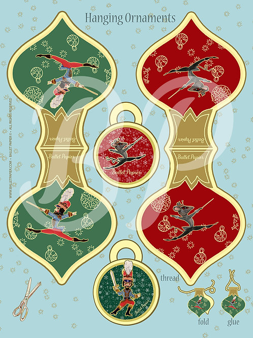 The Nutcracker & the Mouse King Hanging Ornament