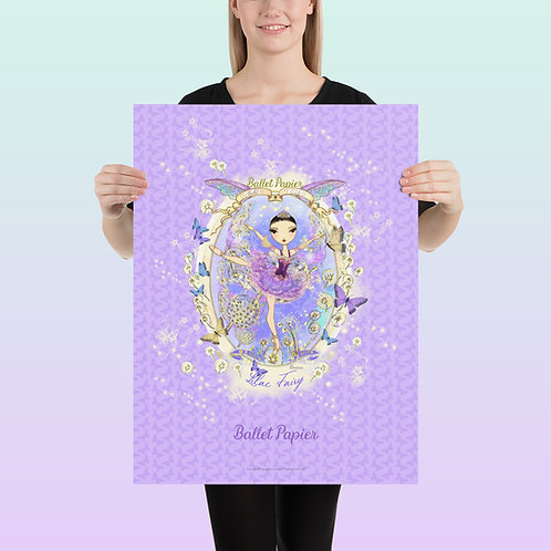 Lilac Fairy Poster