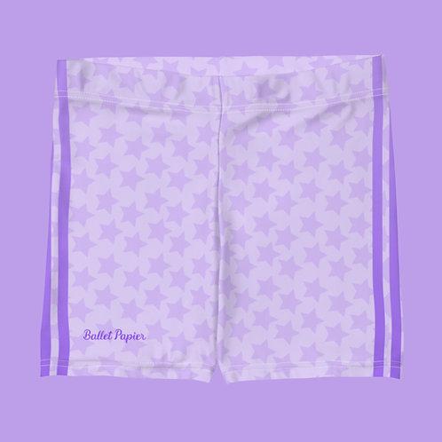 Rhythmic Gymnastics Sports Étoile lilac shorts