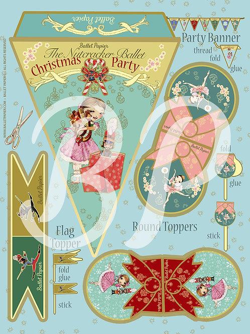 The Nutcracker Party Banner & Topper 4
