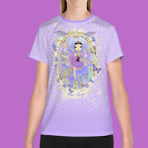 Team Lilac Fairy T-shirt | 8 to 20 years old sizes