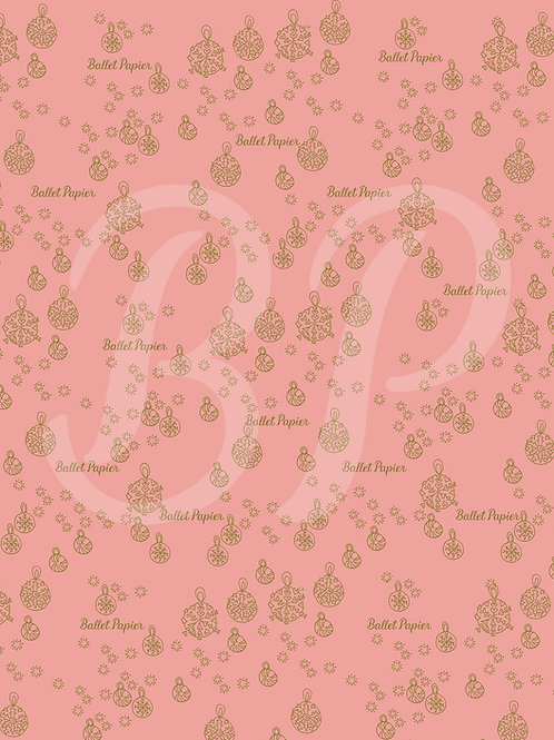 Patterned Sheet for Christmas decoration 6
