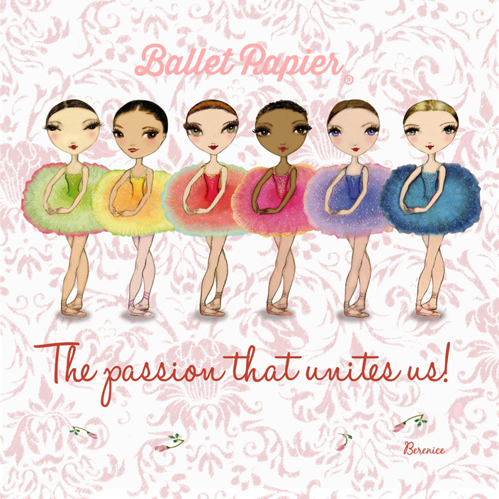 Ballet Papier the passion that unites us!