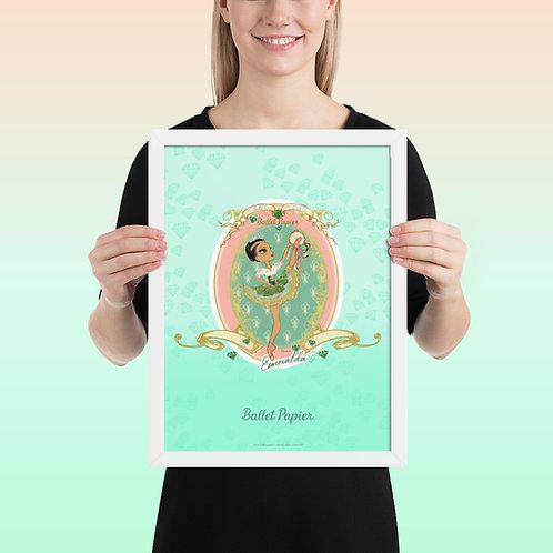 Esmeralda Framed Poster