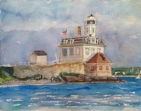 Rose Island Lighthouse Newport RI