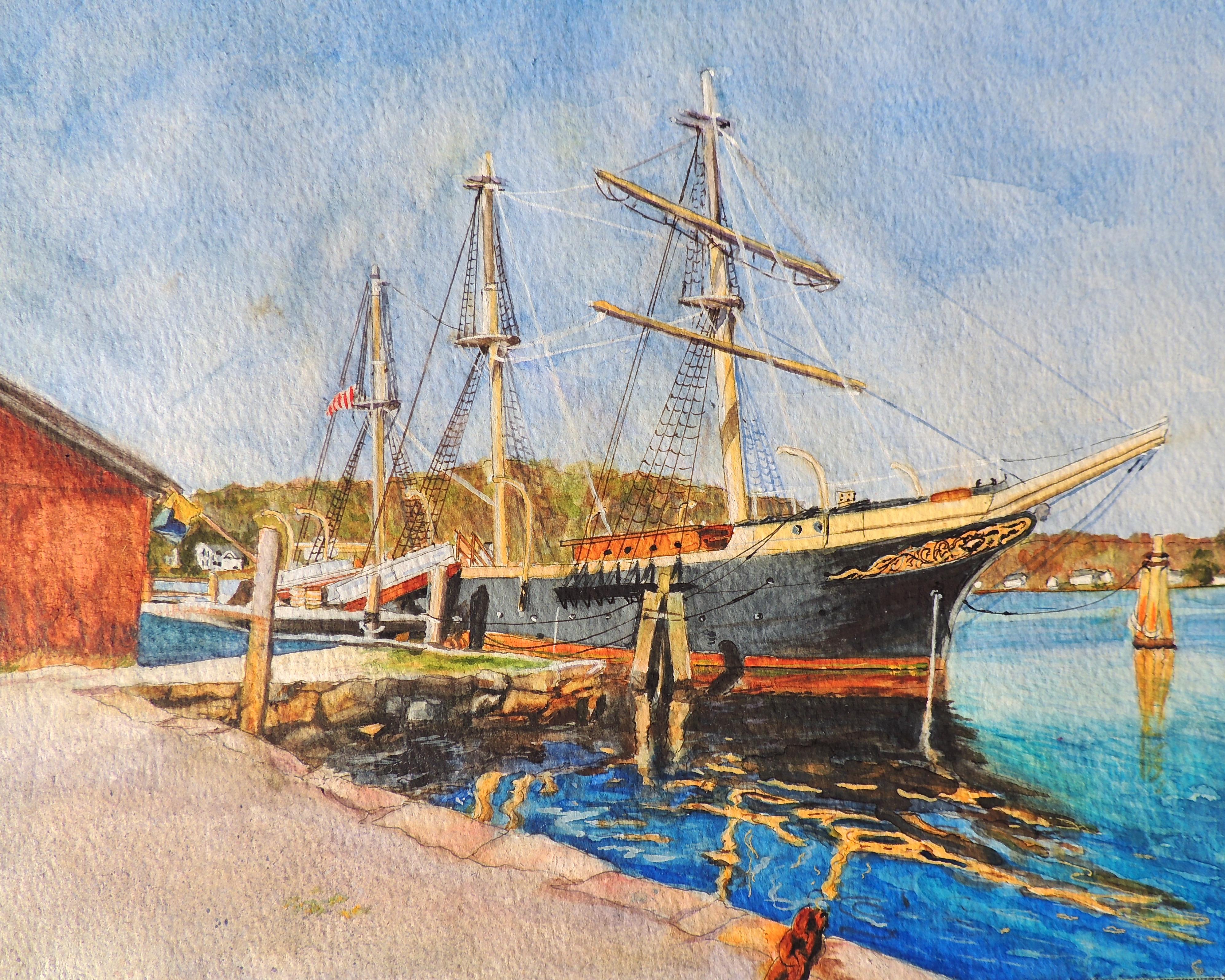 Joseph Conrad, Mystic Seaport