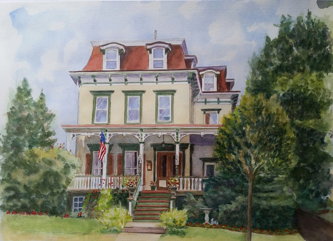 Watercolor Victorian