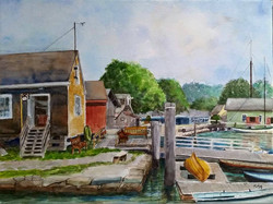 Mystic Seaport Waterfront, CT