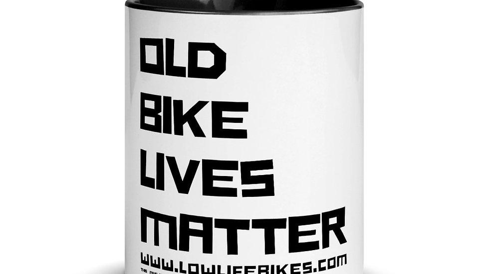 Old Bike Lives Matter Mug-4 colors available!