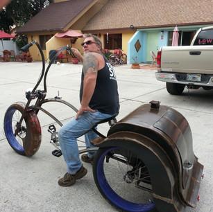 The Bar-B-Que Trike