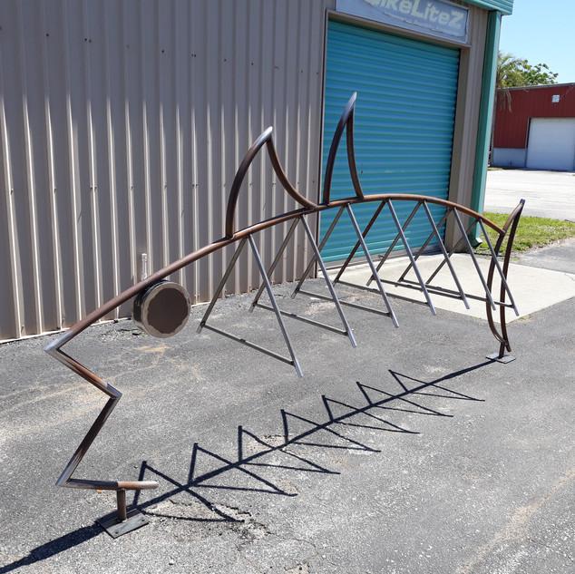 Fish Bike Rack