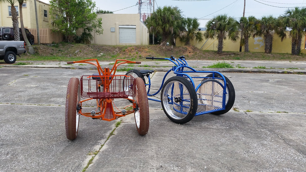 Custom Tricycle Frame -Starts @ $1200