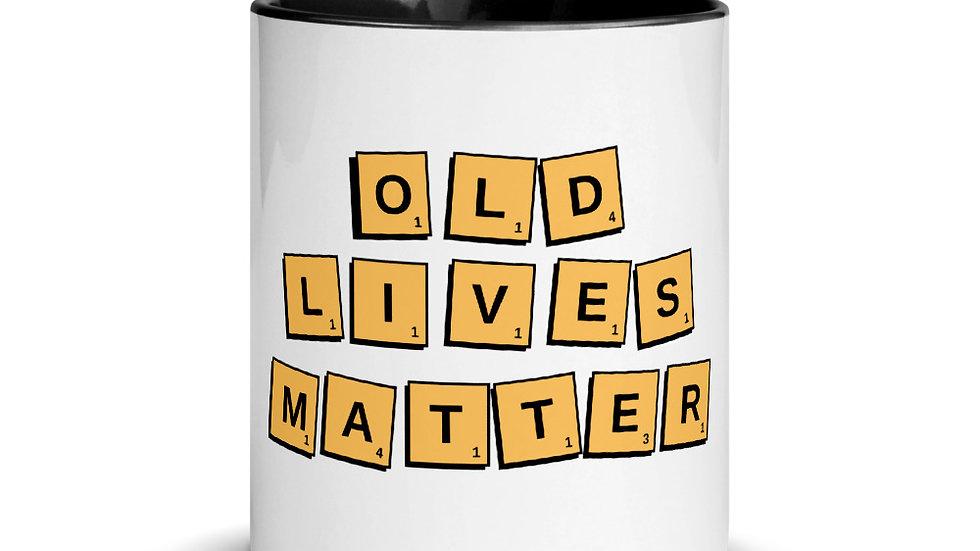 Old Lives Matter Scrabble Mug