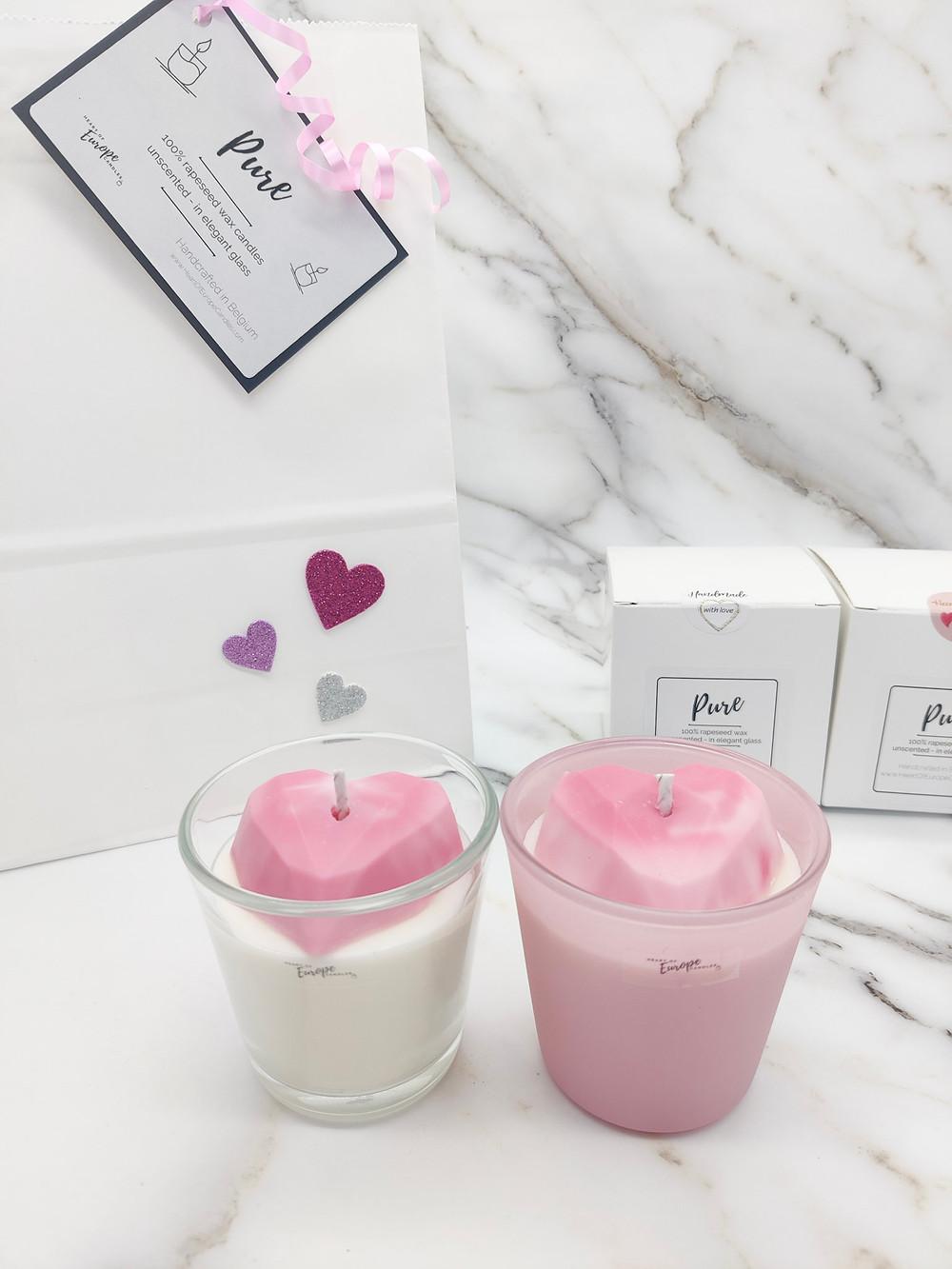 rapeseed candle