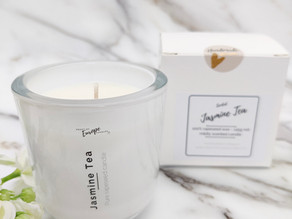 How do scented candles work?