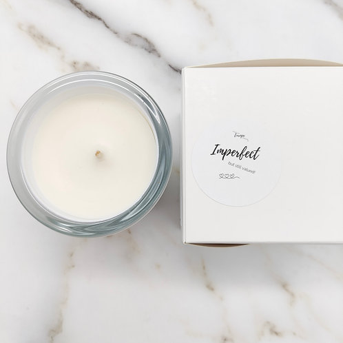 Imperfect: Lavender Fields - white jar