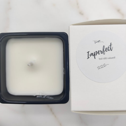 Imperfect: Pure rapeseed - Cube - Black