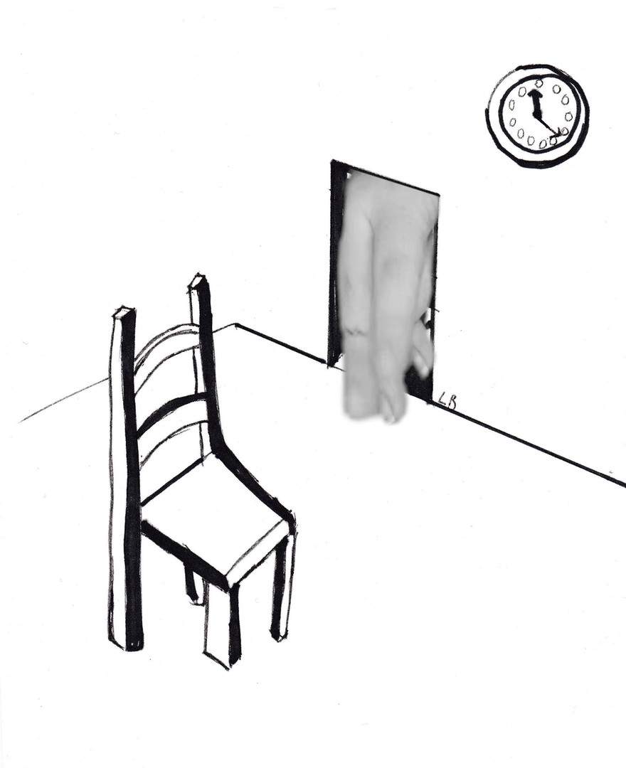 surreal chair