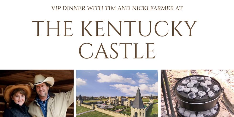VIP DINNER at The Kentucky Castle