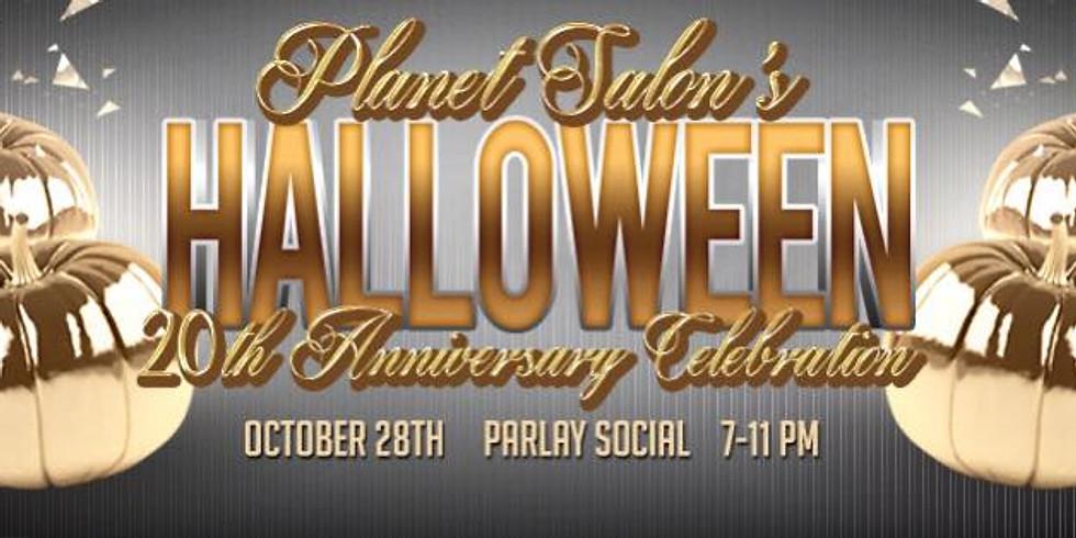 Planet Salon Halloween Party