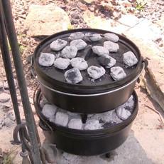 Cowboy Campfire Cooking