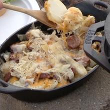 Potatoes (Cheesy & Sausage)