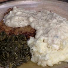 Chicken (Fried Steak and White Gravy)