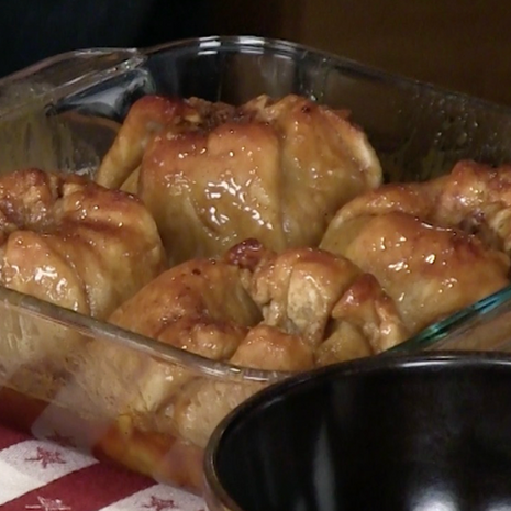 Apple Dumplings (Blue Light Special)