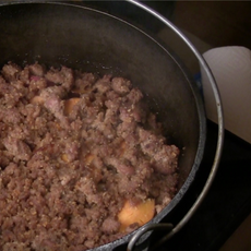 Pork (Sweet Potato Casserole)