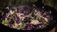 Cabbage with Cream Cheese