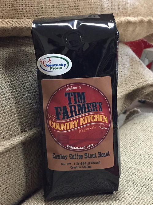 Cowboy Coffee (Stout Roast)