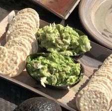 Avocado, Fish & Sweet Pickle Dip