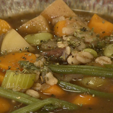 Barley Soup (Venison or Beef)