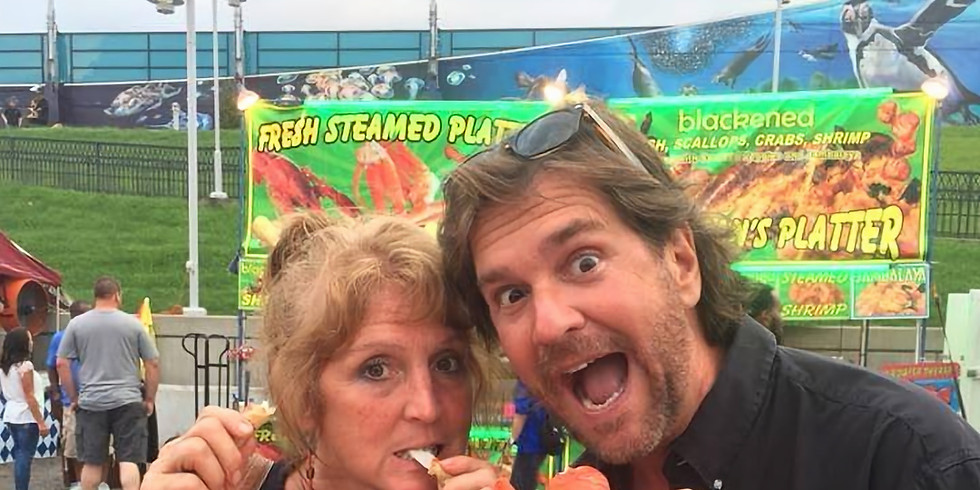 Meet & Greet w/ Tim and Nicki at The Great Inland Seafood Festival