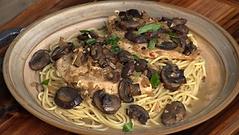 Pasta - Garlic, Chicken & Mushrooms
