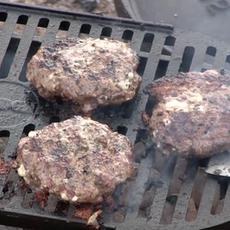 Lamb Burgers (Feta & Pesto)